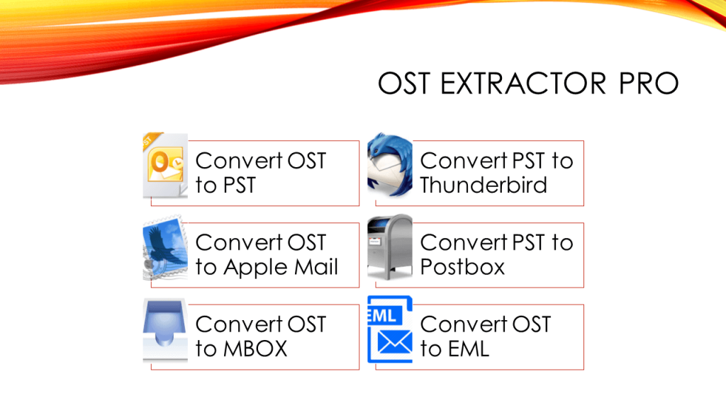 OST to PST Converter Outlook 2013