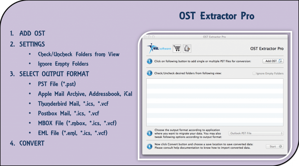 OST to PST Outlook 2019 Mac and Windows