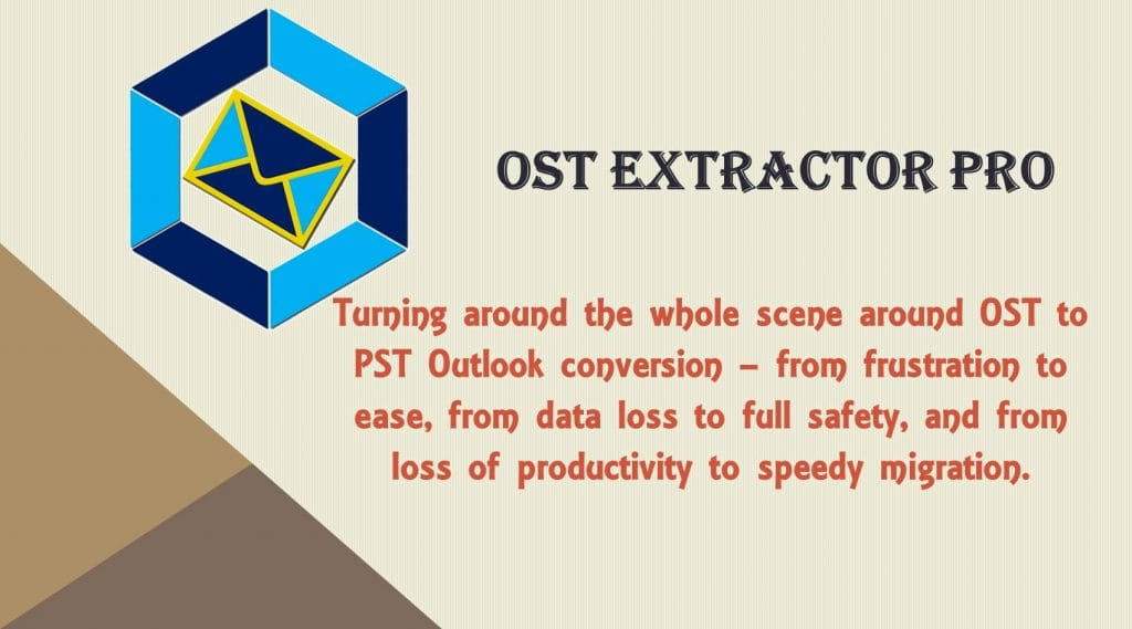 OST to PST Outlook Export Tool