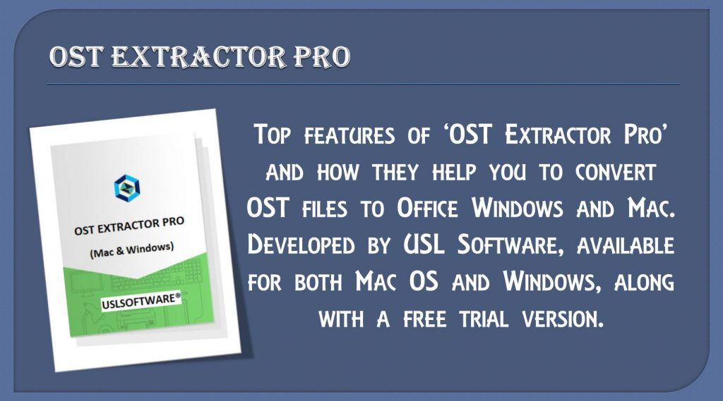 ost files to office mac